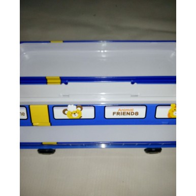 Metal Train-shaped Pencil box