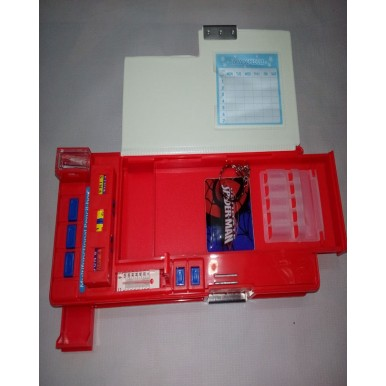 Colourful Super Spiderman Pencil Box for Kids