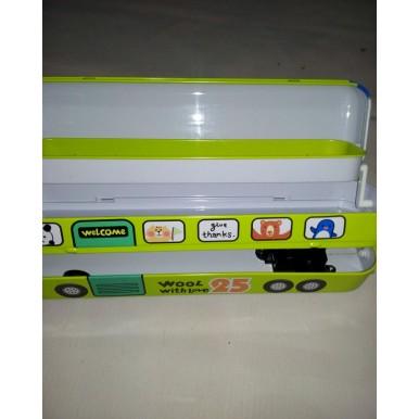 Metal Bus-shaped Pencil box