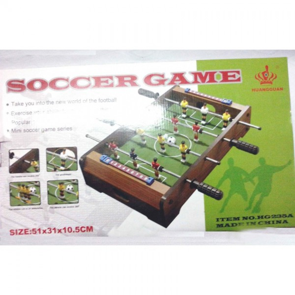 Wooden Small-size Soccer Game