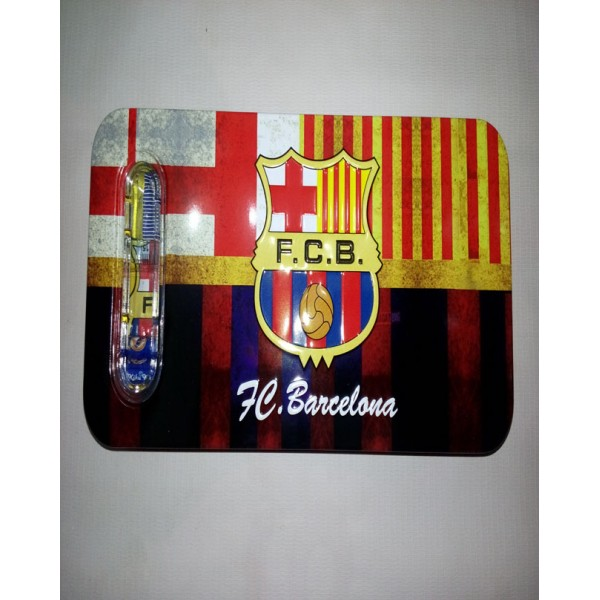 Football Club Barcelona Pencil Box with accessories