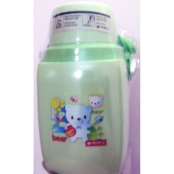 Lion Star 450ml fancy water bottle in green color for kids HU-27