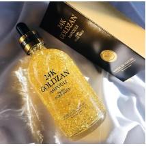 Best anti aging Original Korean 24k Goldzen ampoule serum - 24k goldzan ampoule serum for glowing skin care - 100ml