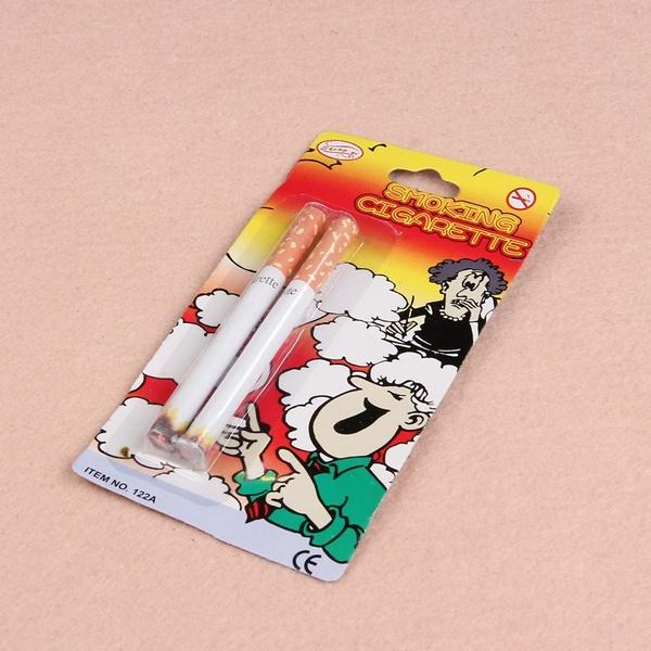 2 Pcs Magic Smooke Effect Cigarettte Artificiall Prank