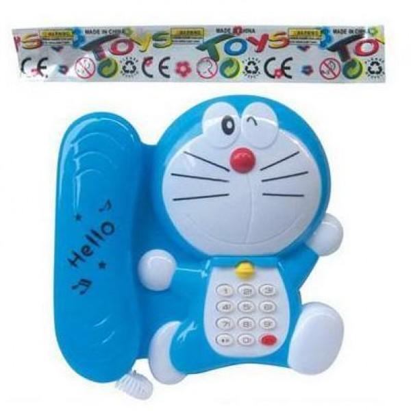 Toys Doraemon Kids Light and Music Playing Phone