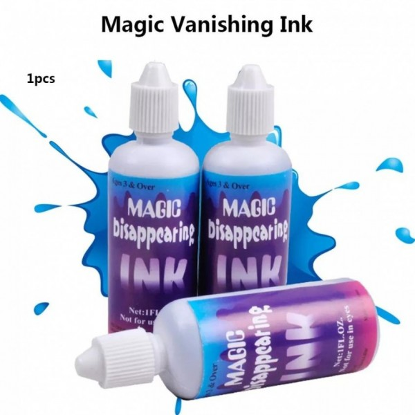 Magic Disappearing Invisible Ink (Pack of 5)