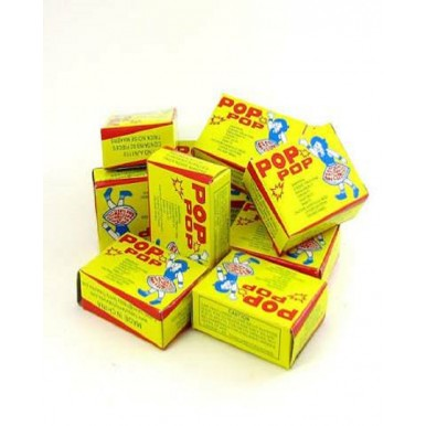 Pop Pop Fun Mini Sparkling Crackers for Kids (Pack of 5 Pcs)