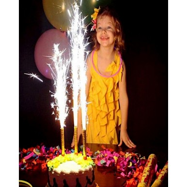 Sparkle Flare For Birthday - Pack of 6 Sparkling Candles