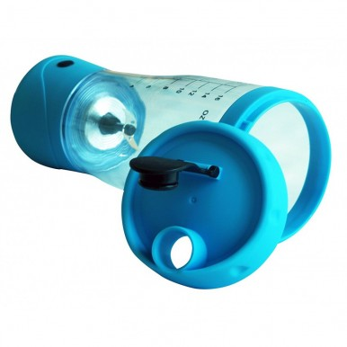 Powerful Battery Shaker with steel blades for Protein and Juice