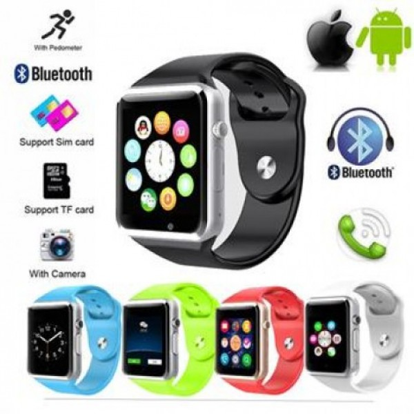 MAGS STORE A1 Bluetooth Smart Watch Silver