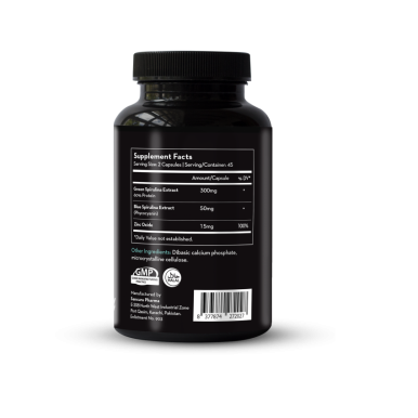 Green and Blue Spirulina Extract