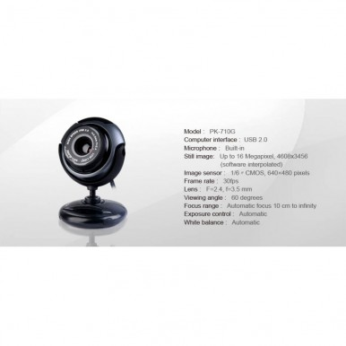 A4TECH Anti Glare Webcam pk710g