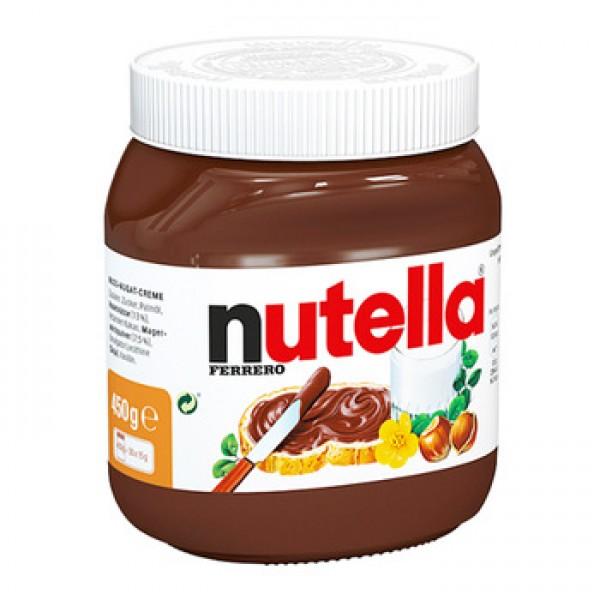 Nutella ferrero chocolate bread spread