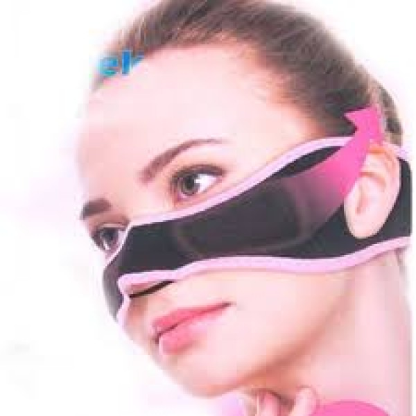 Cheek Slim Belt Powerful Slimming Thin V Face Lift Mask Massage Tool 3D Correction Bandage