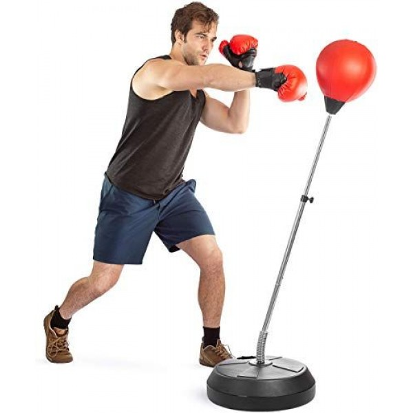 Boxing punching ball set- anti stress fitness bag with  boxing glove