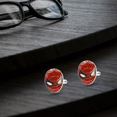 Spiderman Cufflinks - Trendy style cufflinks