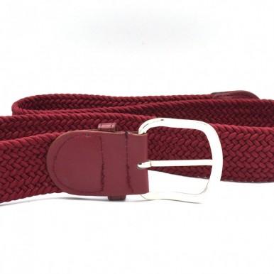 Maroon Strechable Belt For Boys