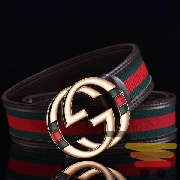 Fashion smooth buckle belt simple casual belt men and women belt