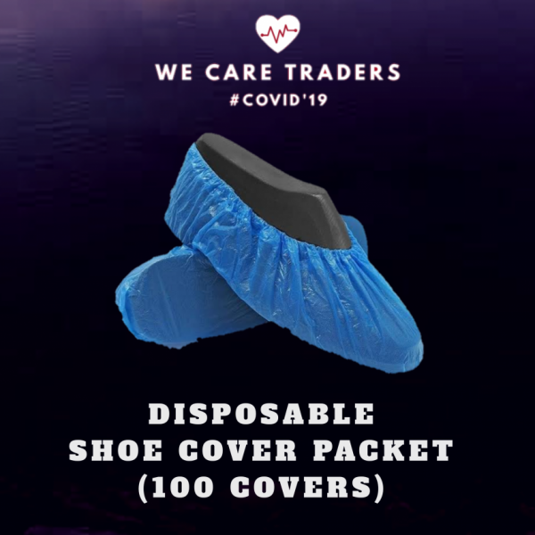 Covid Protection Disposable Shoe Cover Packet