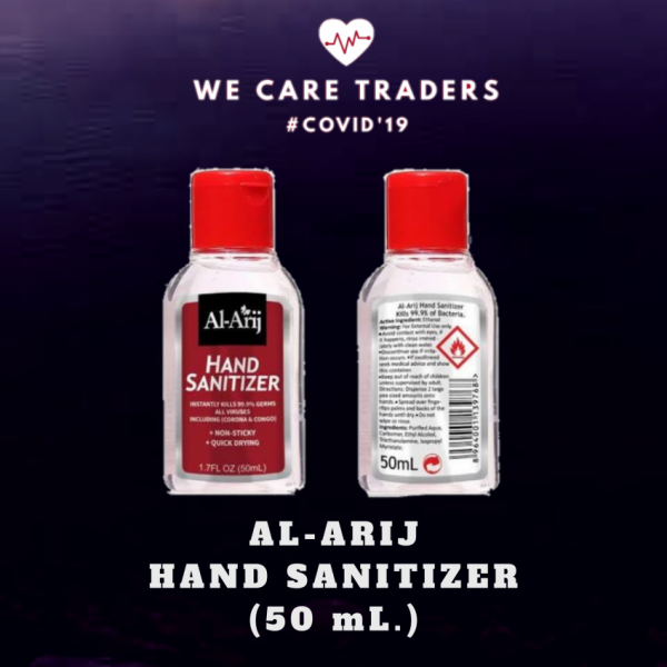 Non-Sticky And Quick drying Al-Arij Hand sanitizer