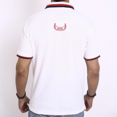 Wings Polo Lovely White