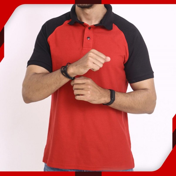 Wings Polo Stylish Red