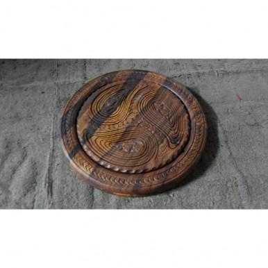 Wooden Dry Fruit Basket Wooden Handicrafts(sheeshum)