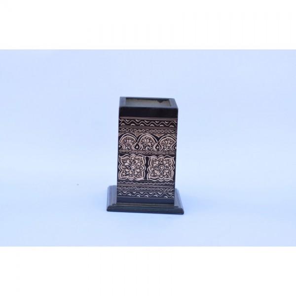 Wooden Pencil jar - Pen Holder