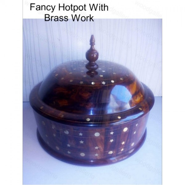 Wooden Hotpot with steel bowl