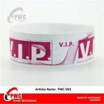 Pack of 500 Wristbands for amusement parks