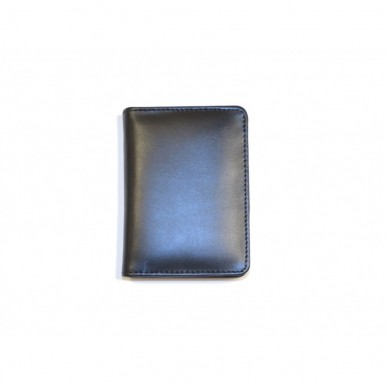 Black Genuine Leather Wallet and Cardholder Set for Men