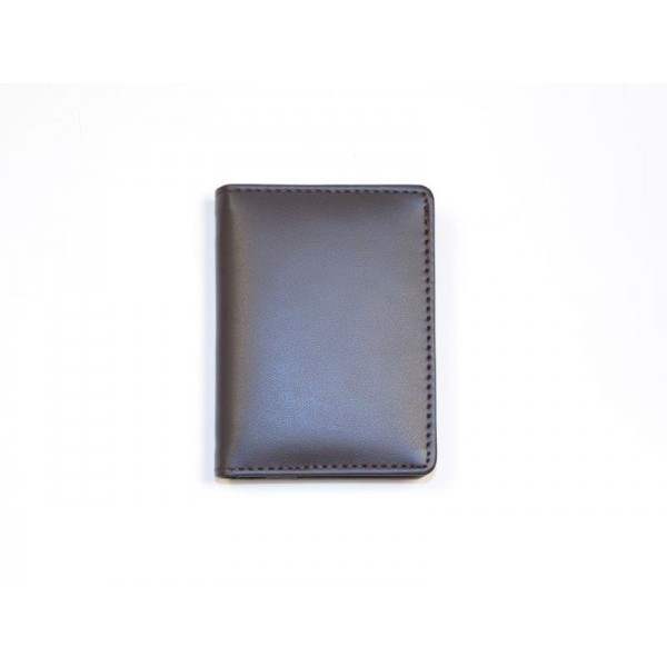 Brown Genuine Leather Cardholder