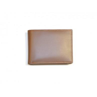 Tan Genuine Leather Wallet and Jacket Wallet Set for Men