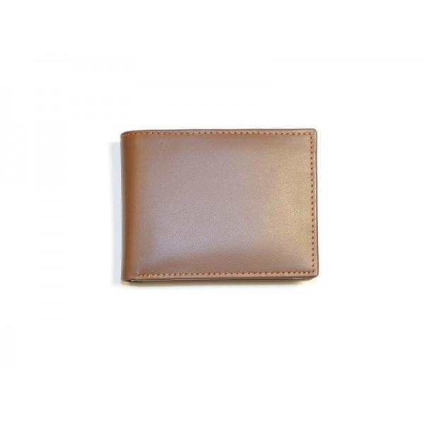 Tan Genuine Leather Wallet for Men