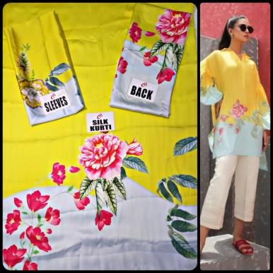 Silk Tunic Women Designer Shirt Piece 2019
