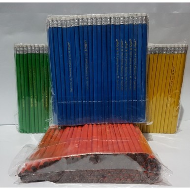 Pack of 144 Imported Lead Pencils HB 2B