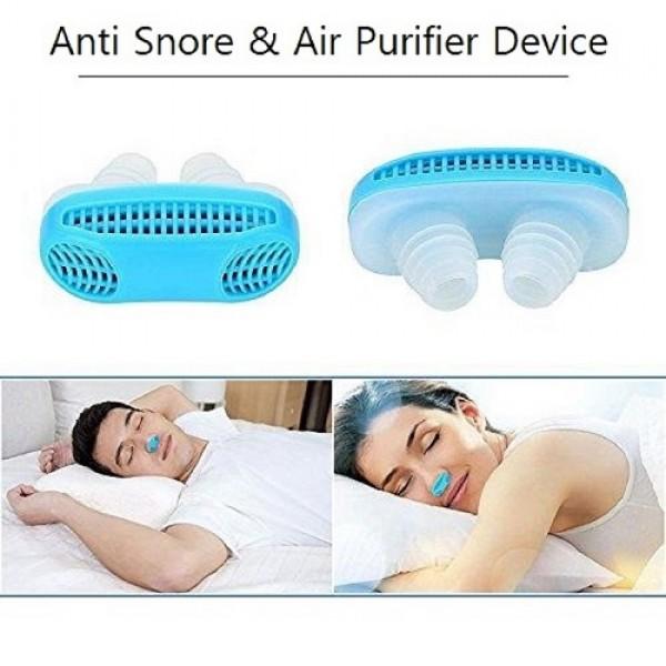 Anti Snore & Air Purifier Device – Sleep Aid