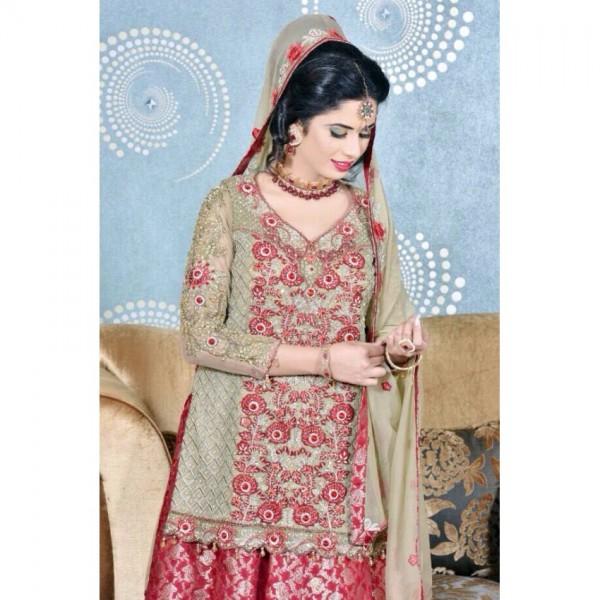Pure Chiffon Embroidered Lehanga Choli