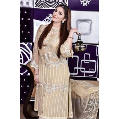 Vol-1 Luxury Chiffon Embroidered Dress