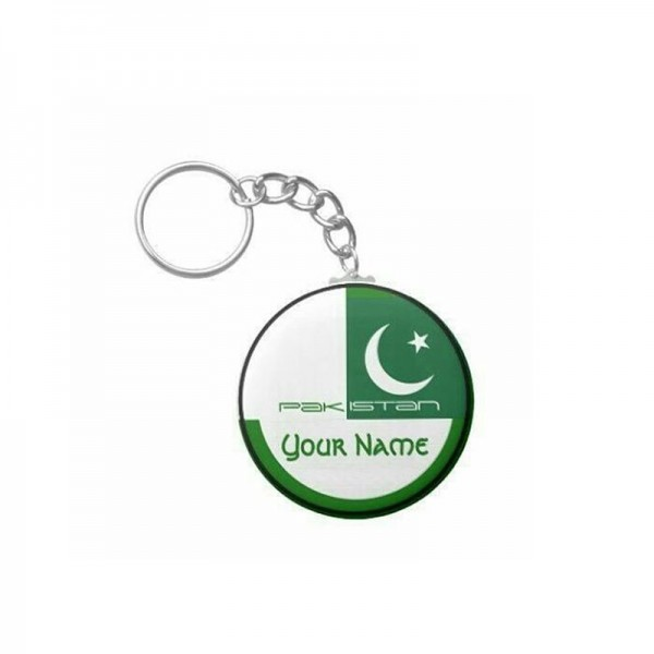 Independence Day Customized keychain