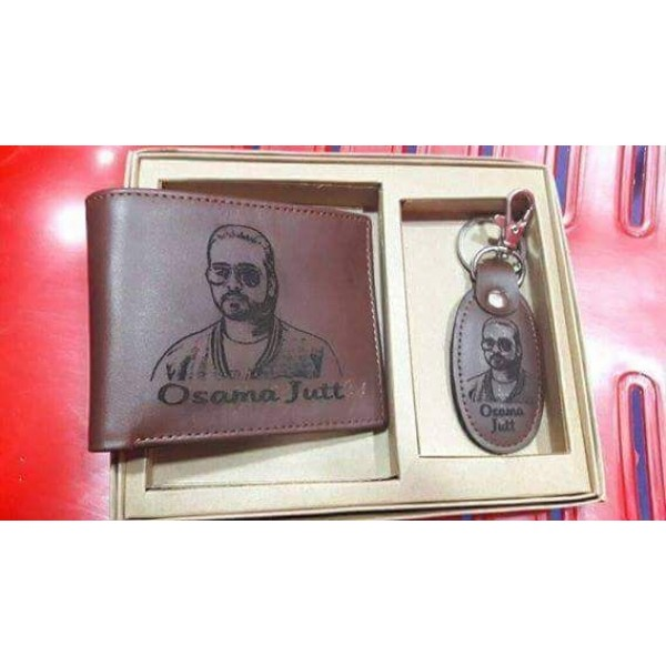Customized Picture wallet and key ring