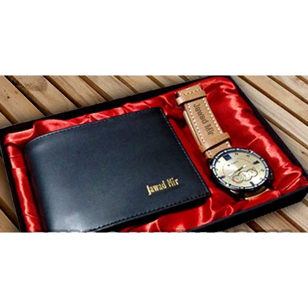 Customized Wallet and Watch