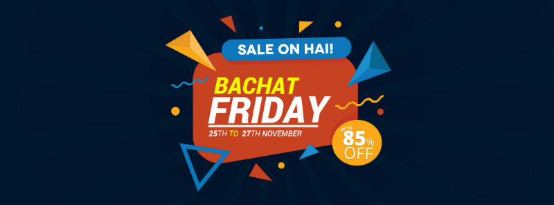 Bachat Friday Promotions on Buyon.pk