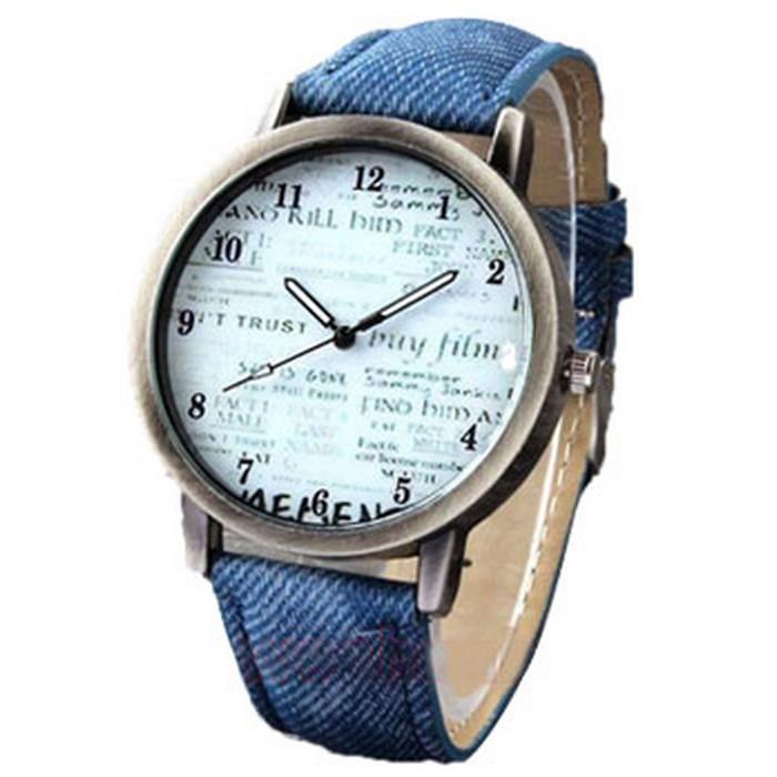 Amazon.com: denim watch: Clothing, Shoes & Jewelry