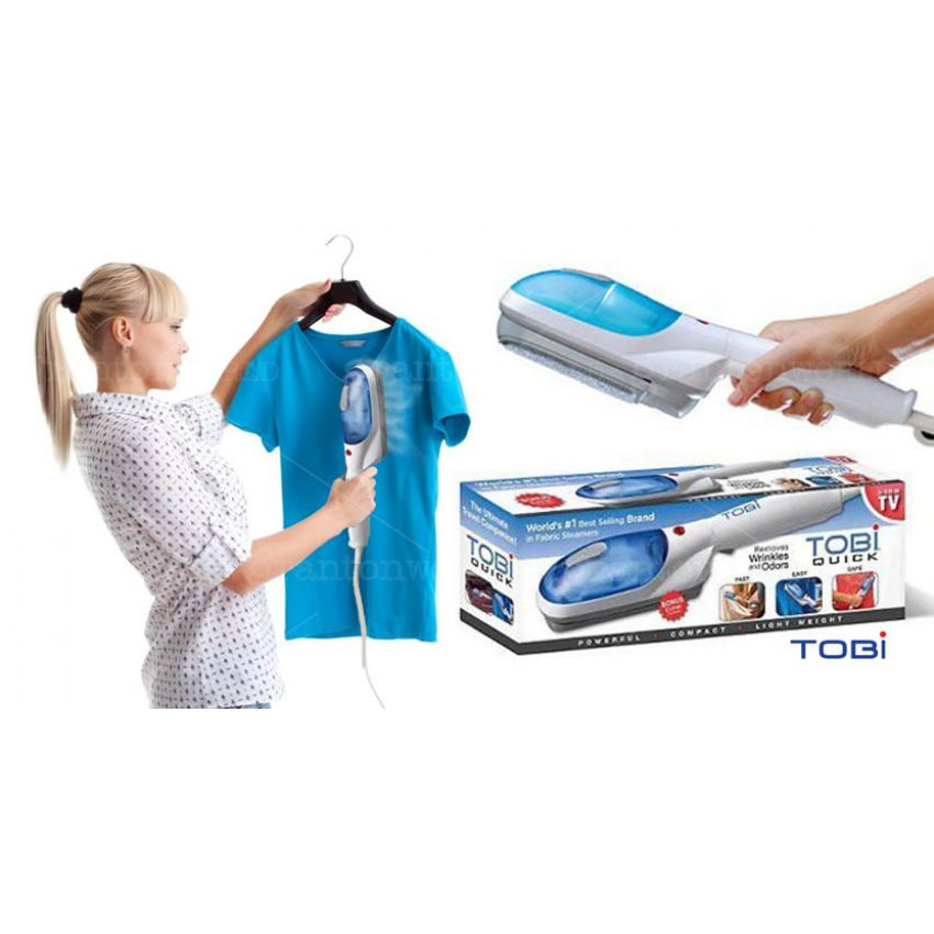 Buy Tobi Steamer Portable Cloth Steam Iron Brush Online In