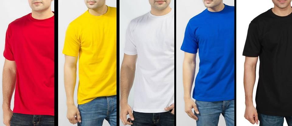 Pack of 5 plain t shirt for Plain t shirt pack