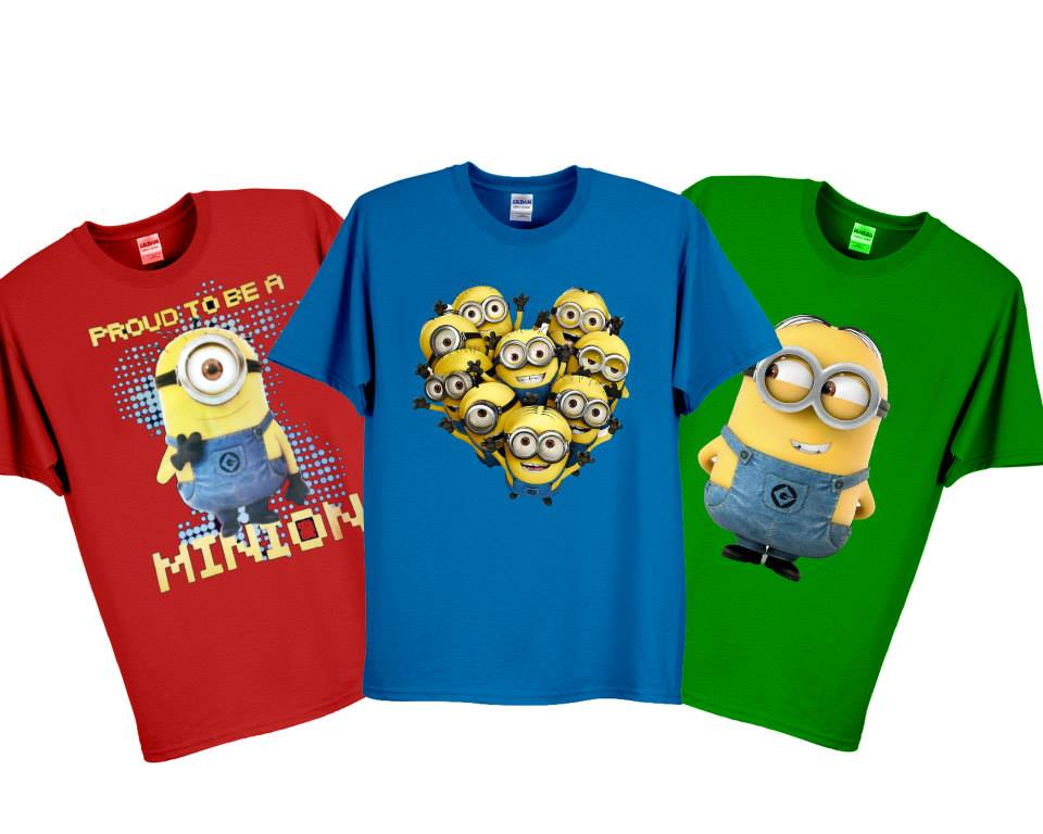 Pack Of 3 Minion T Shirts Rs 1100
