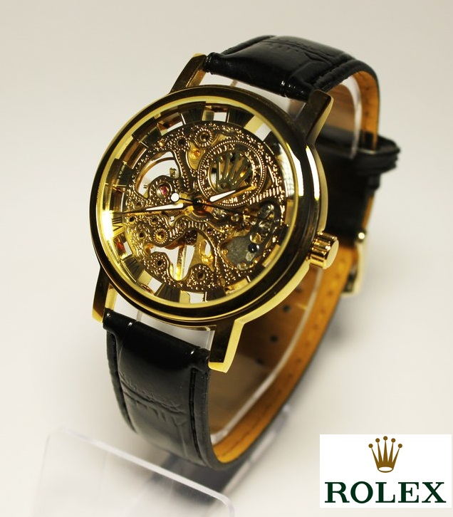 Rolex Skeleton Automatic Wrist Watch For Men