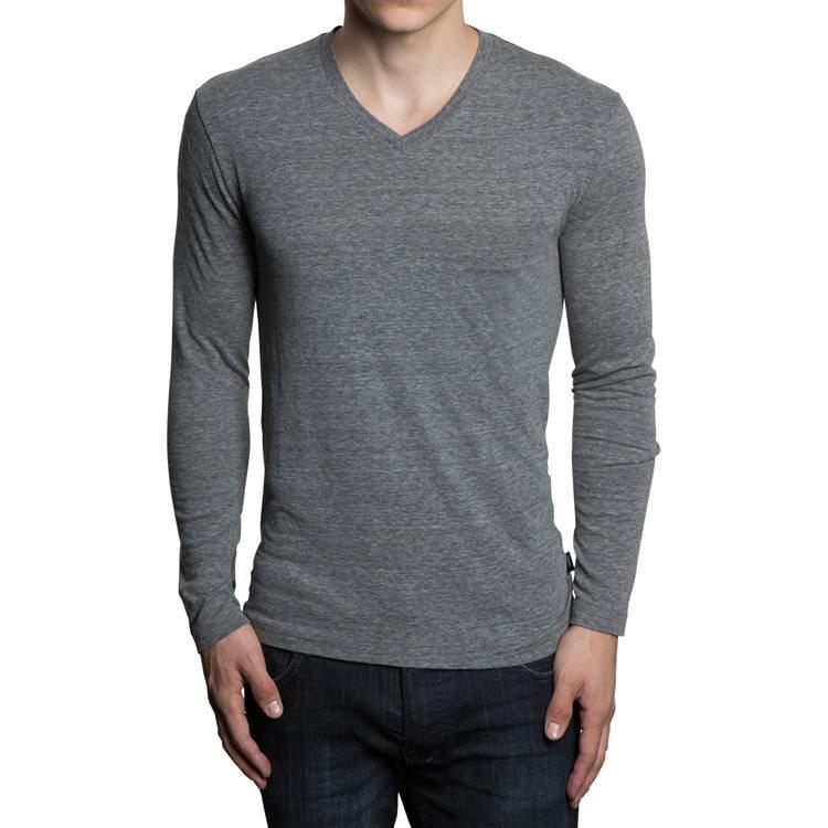 V-Neck Long Sleeve