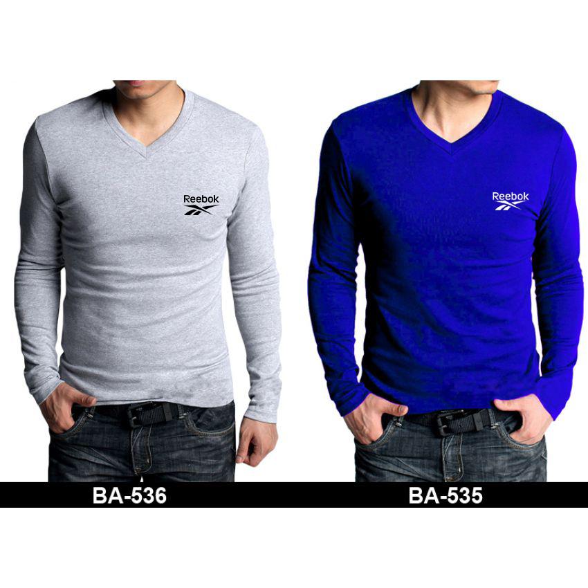 reebok full sleeve t shirt